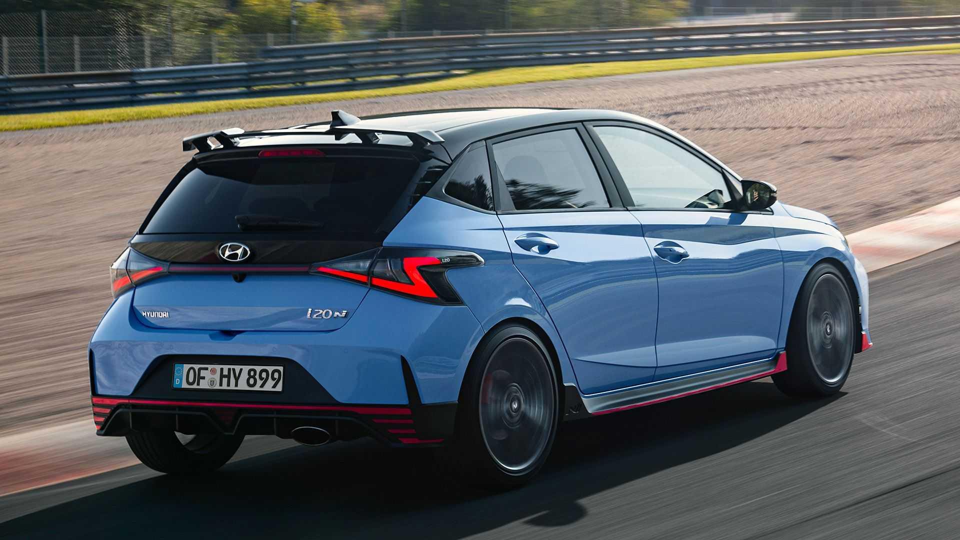 Hyundai i20 N (2021): Performance Blue