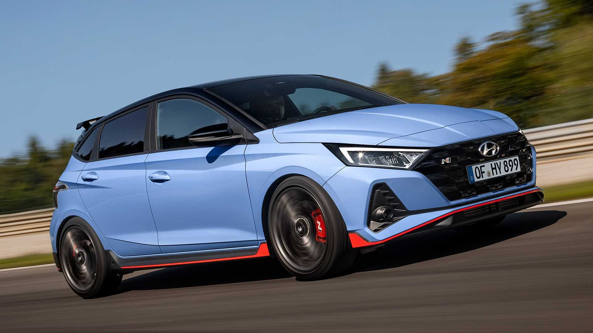Hyundai i20 N (2021): Performance Blue