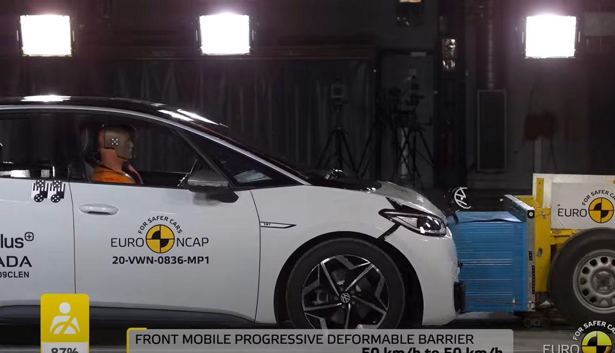 Volkswagen ID.3: test zderzeniowy, Euro NCAP