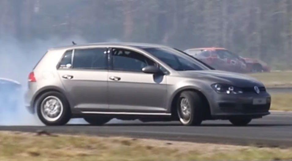 Volkswagen Golf Mk7 RWD (BMW V8)