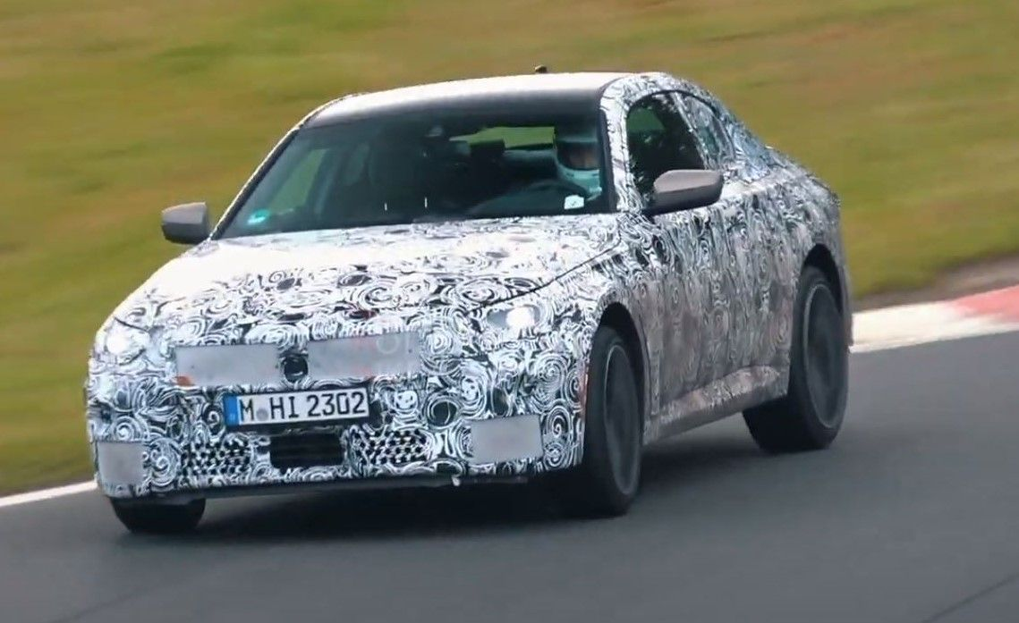 BMW serii 2 Coupe (2021) - testy na torze Nurburgring