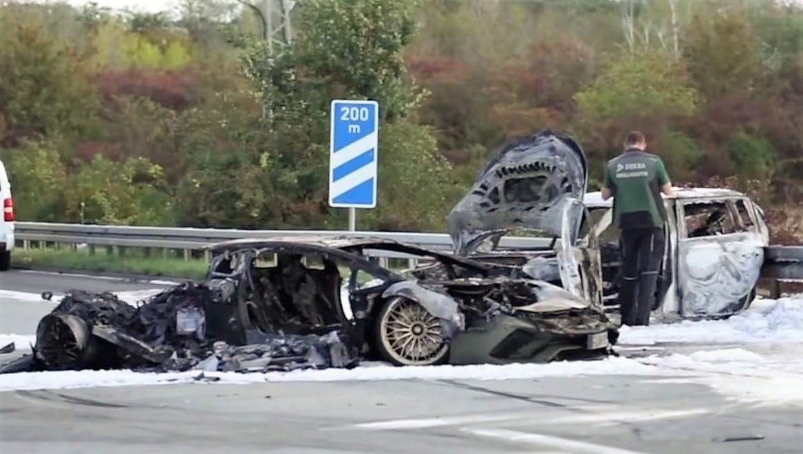 Wypadek Lamborghini i Skody w Niemczech