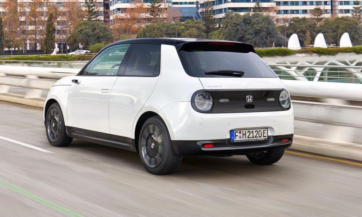 Honda e (BEV) 2020: tył