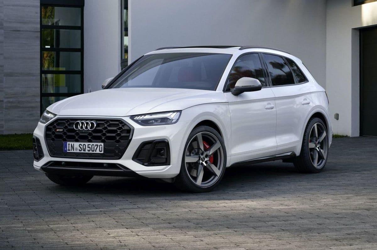 Audi SQ5 lifting (2021)