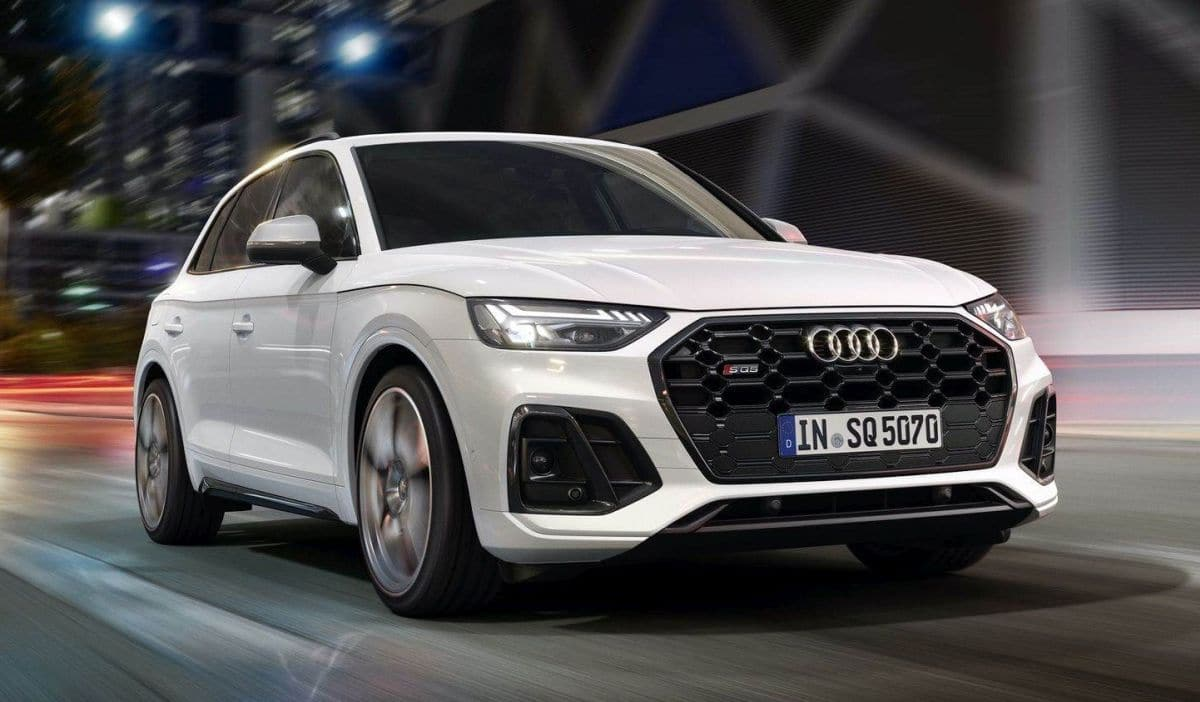 Audi SQ5 lifting (2021)