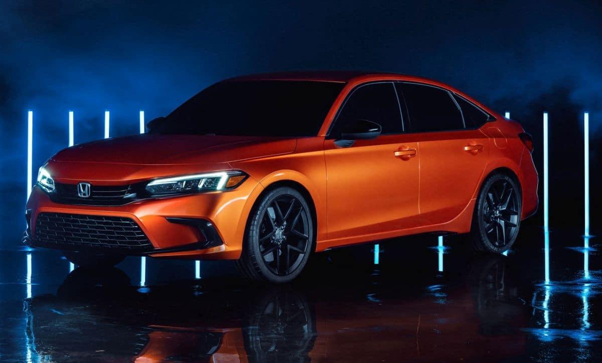 Honda Civic Sedan (5D) (2022): prototyp