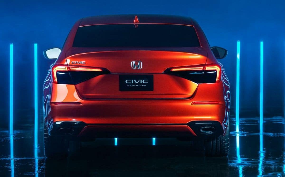 Honda Civic Sedan (5D) (2022): prototyp