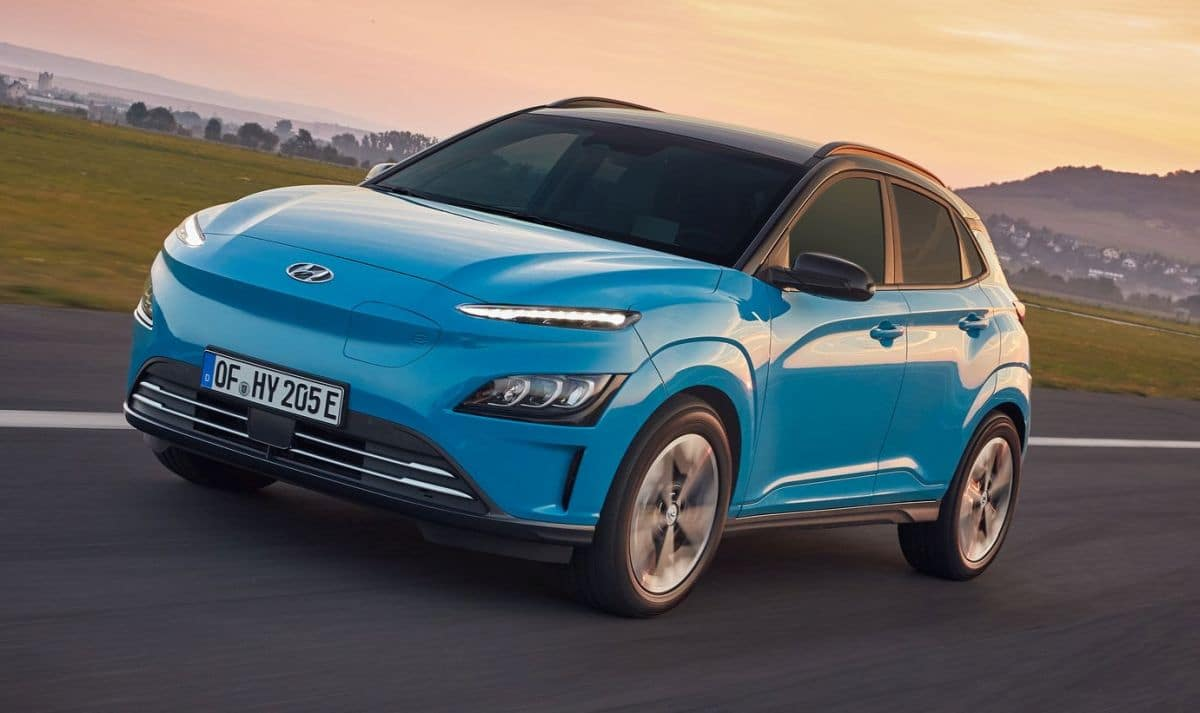 Hyundai Kona Electric po liftingu (2021)