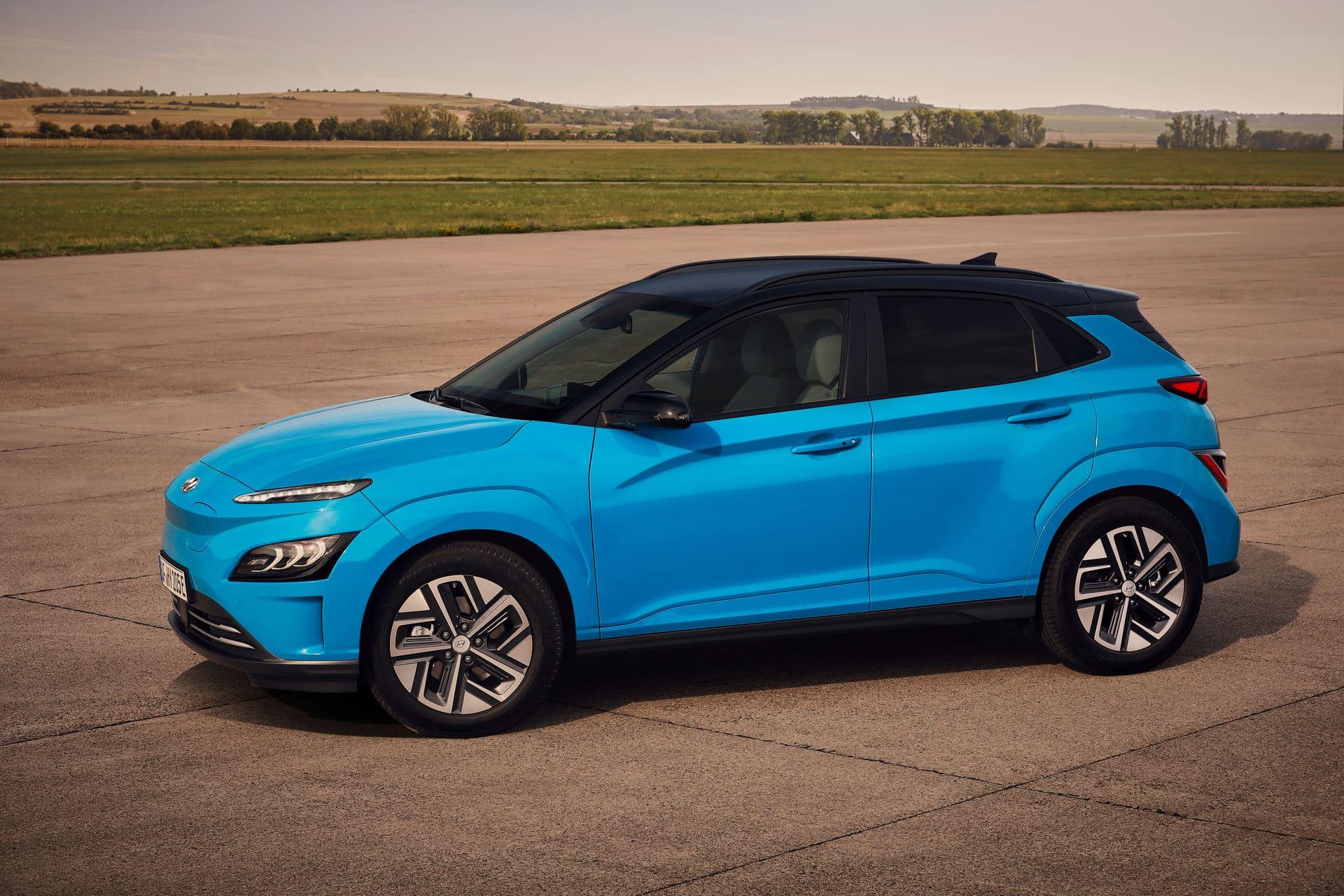 Hyundai Kona Electric po liftingu (2021)