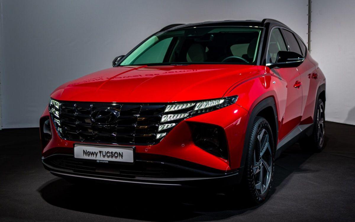 Hyundai Tucson 2021: kolor czerwony