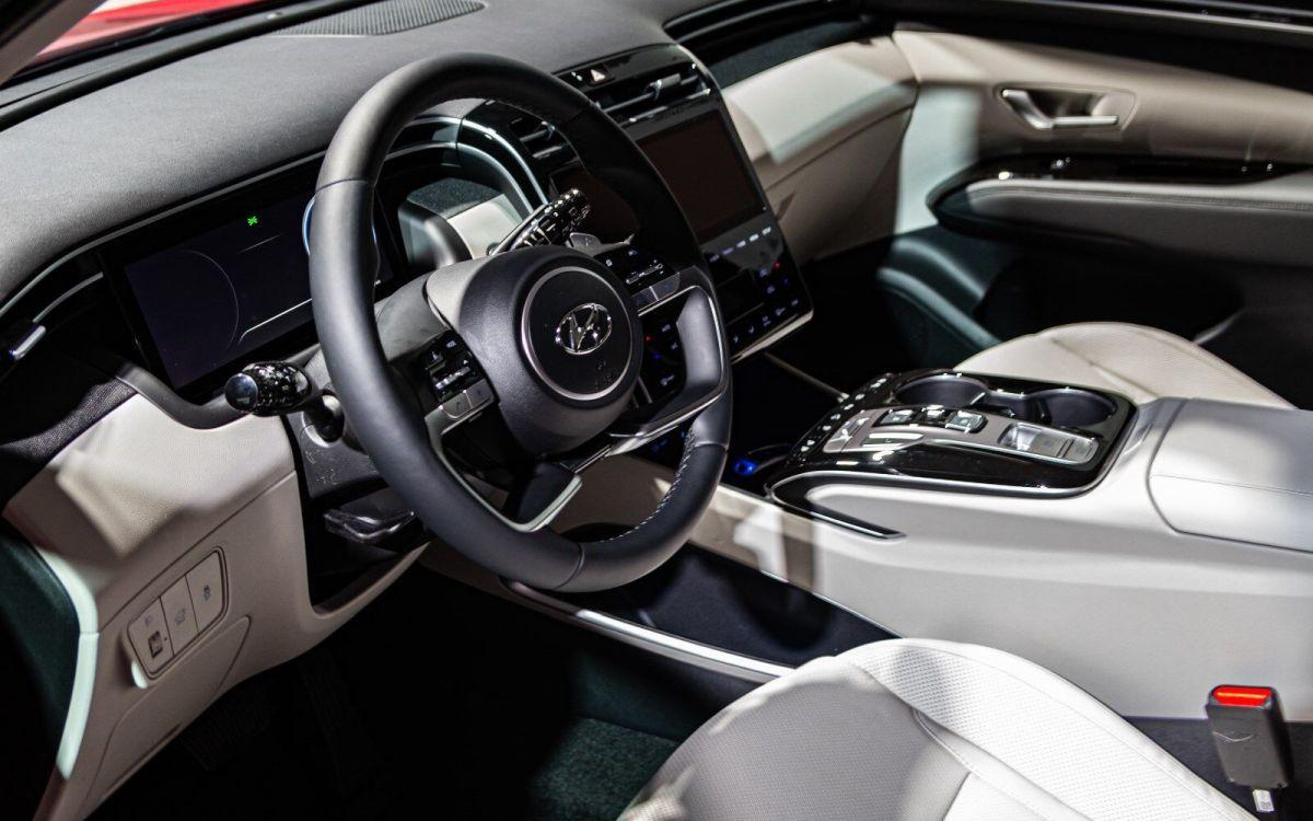 Hyundai Tucson 2021: wnętrze