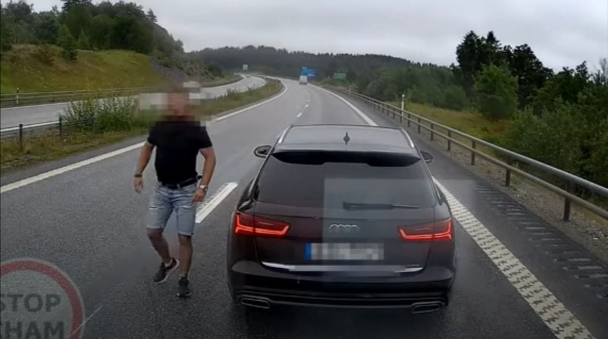 Polak w Szwecji (Audi A6 Avant)