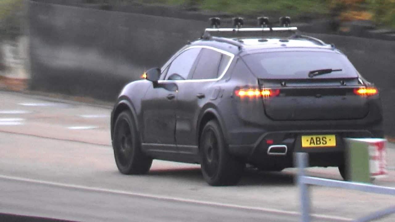 Porsche Macan (EV) 2022: prototyp