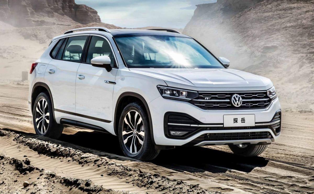 Volkswagen Tayron: model na rynek chiński