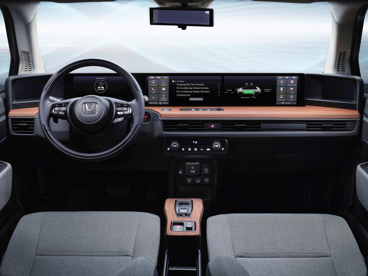 Honda e (BEV) 2020: wnętrze