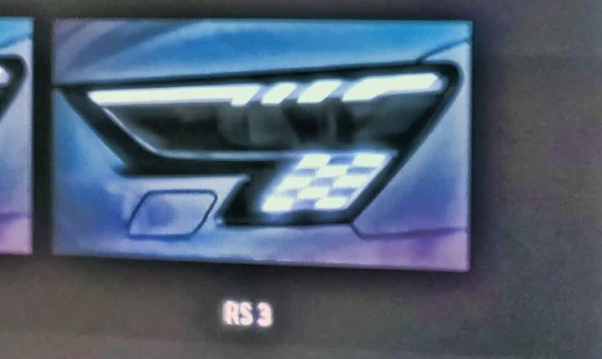 Audi RS3 (2022): Led Matrix (szachownica)