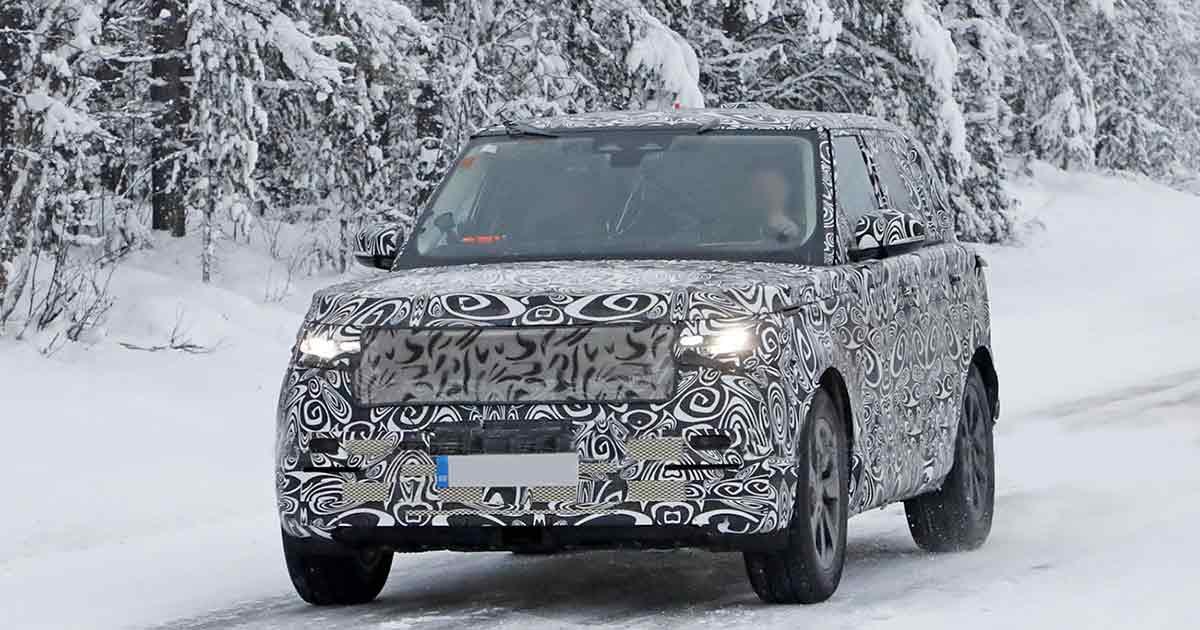 Range Rover (2022): testy zimowe prototypu