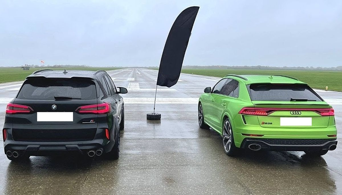 Audi RS Q8 vs. BMW X5 M