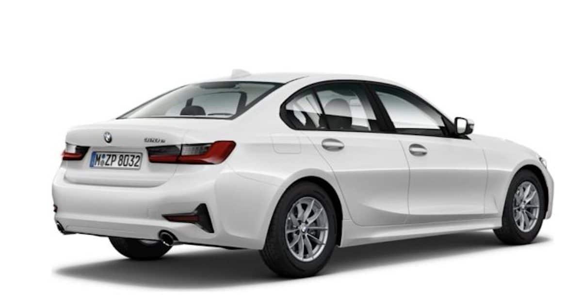 BMW 320e plug-in hybrid (PHEV)
