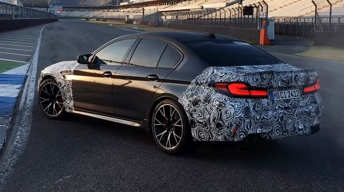 BMW M5 CS (2021): prototyp