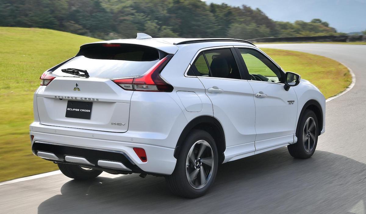 Mitsubishi Eclipse Cross 2021 (PHEV): tył