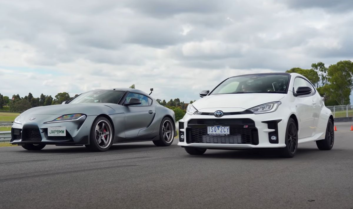 Toyota GR Supra vs. GR Yaris