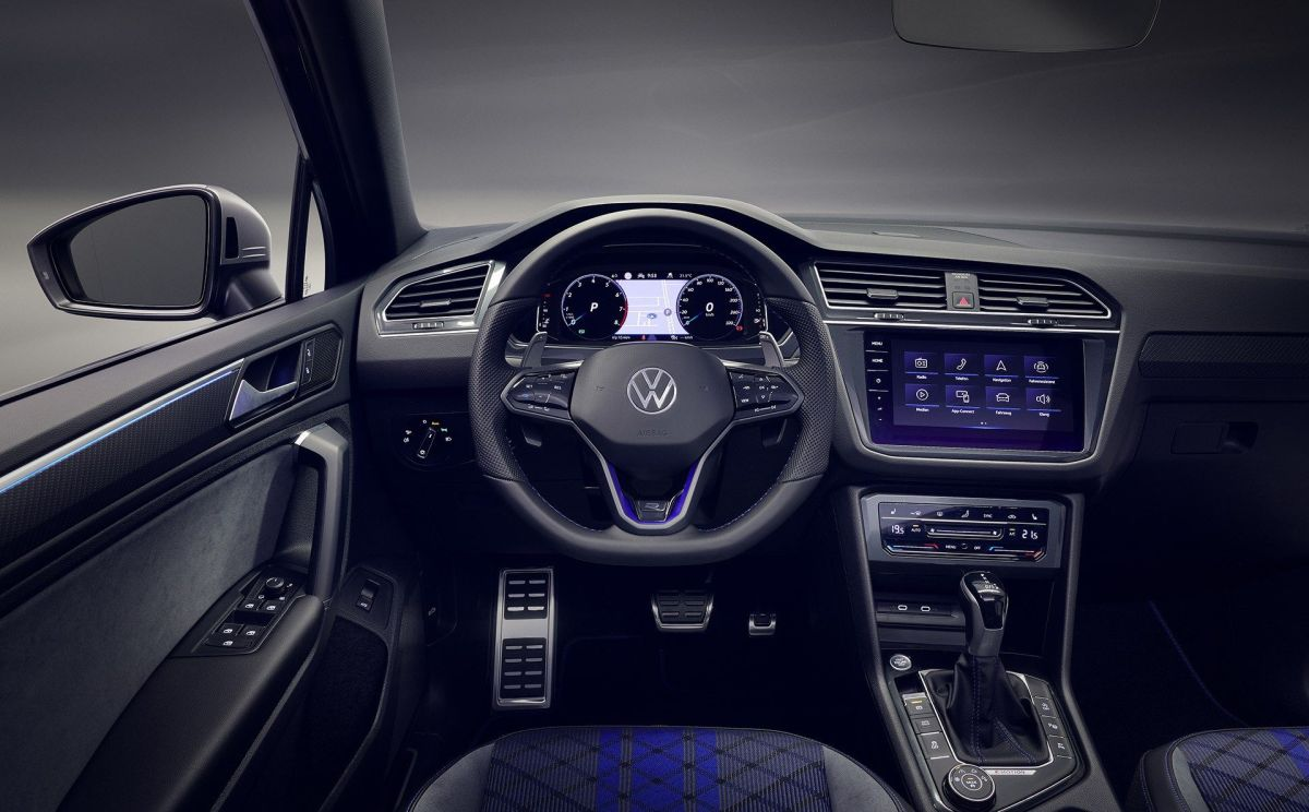 Volkswagen Tiguan R (2020): niebieski