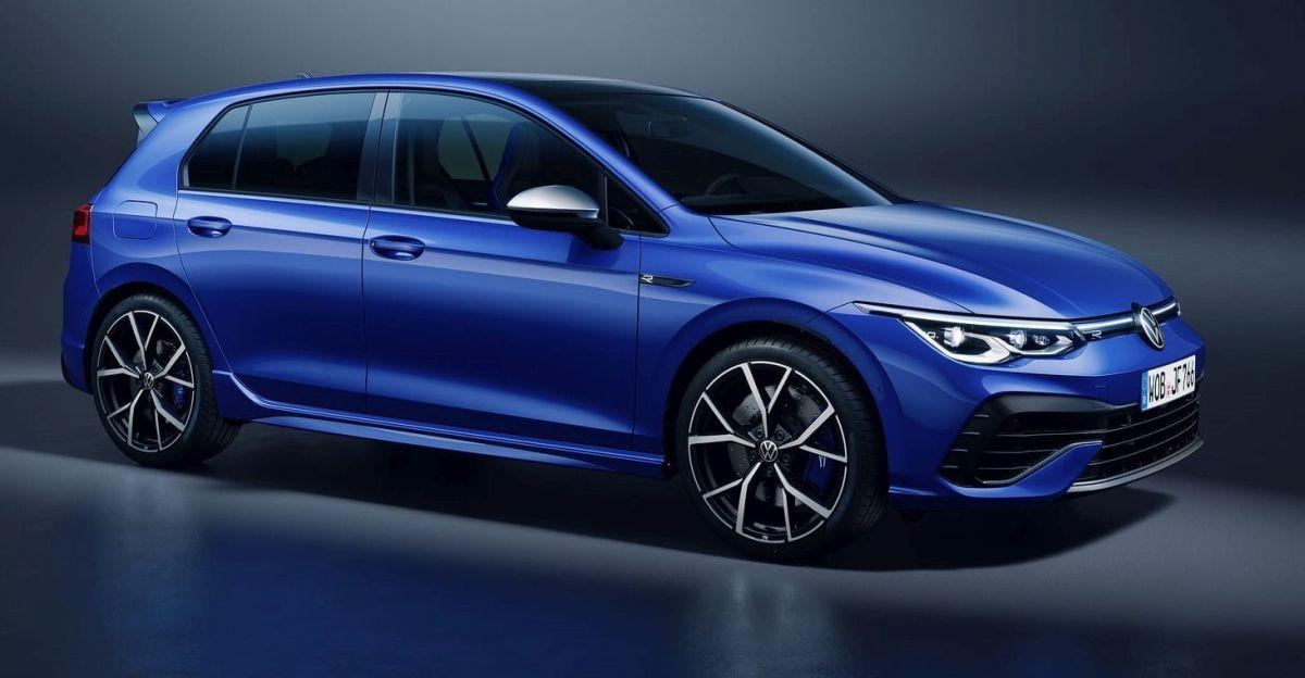 Volkswagen Golf R (2021): niebieski