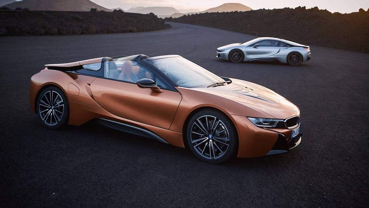 BMW i8 Roadster i BMW i8 (w tle) 2019