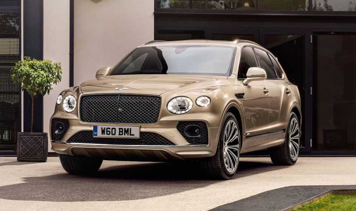 Bentley Bentayga Hybrid (PHEV) 2021
