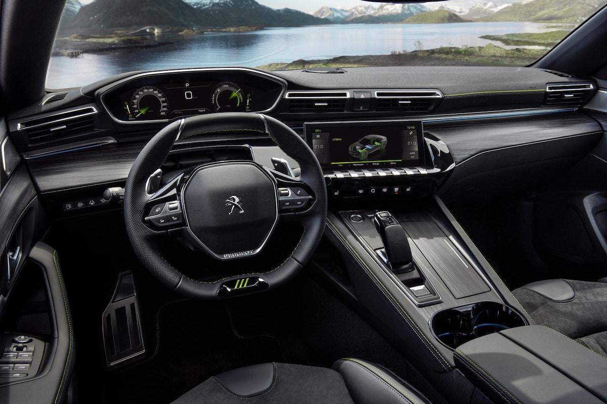 Peugeot 508 PSE PHEV (plug-in hybrid) 2021