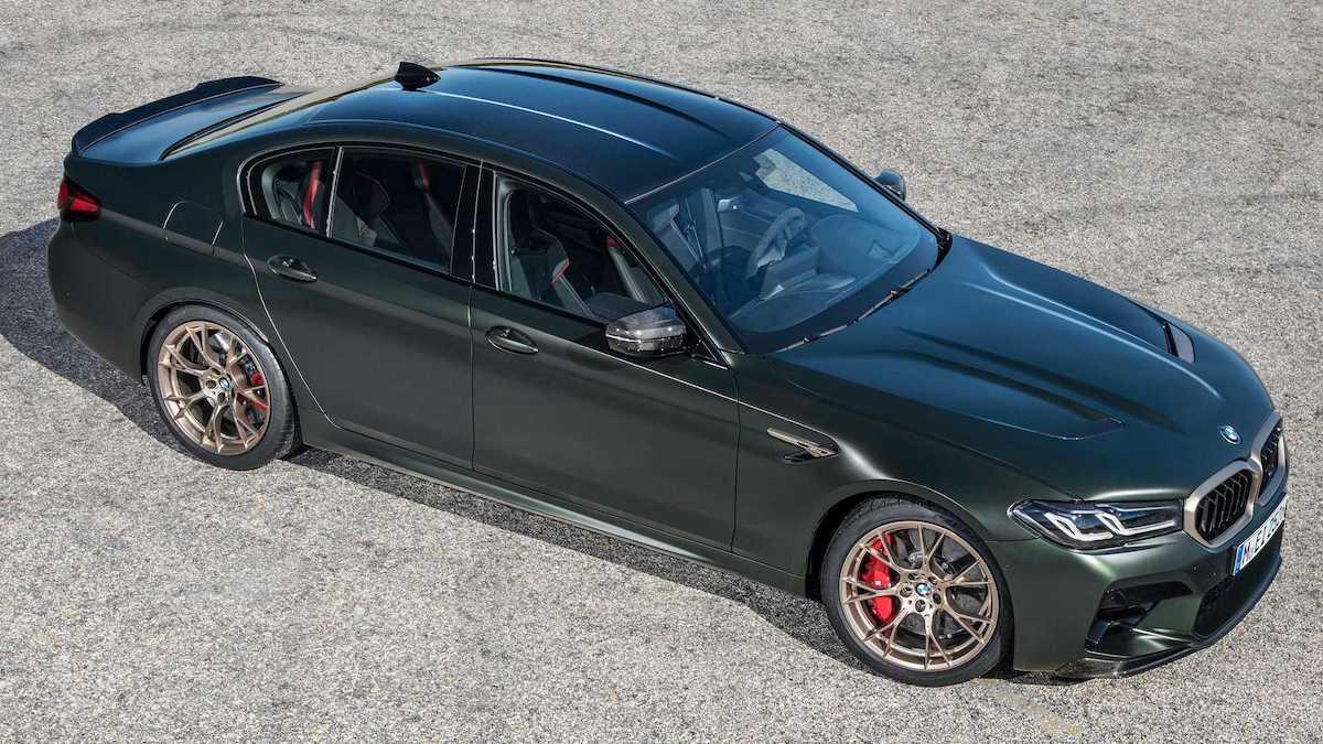 BMW M5 CS (2021): bok