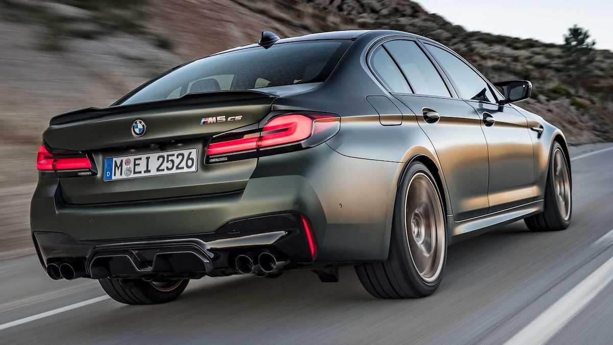 BMW M5 CS (2021): tył