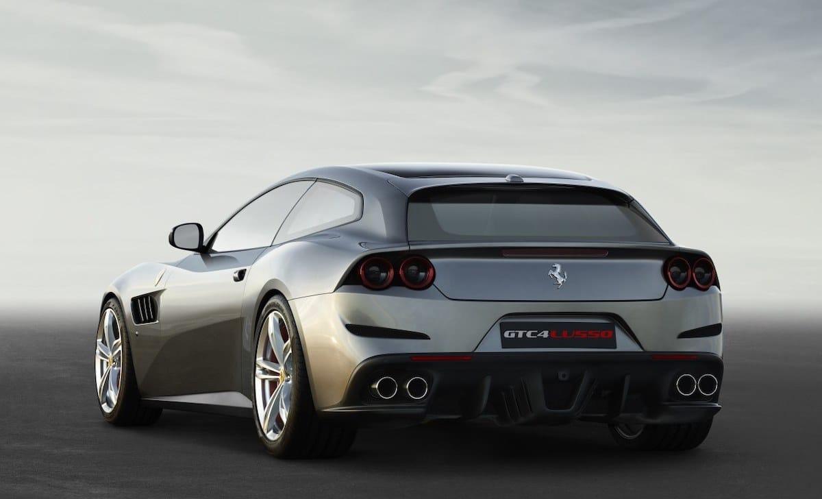 Ferrari GTC4 Lusso: tył