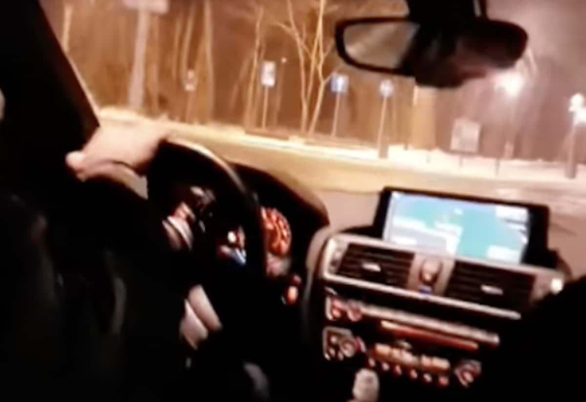 BMW M135i: wypadek w sopocie