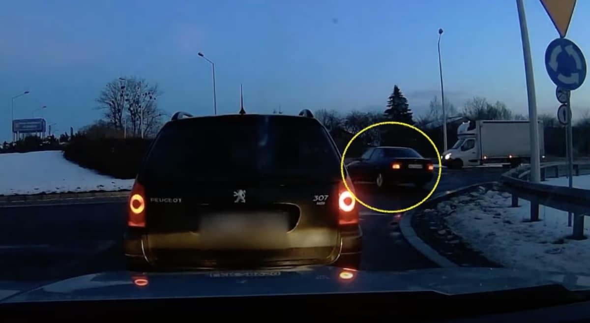 BMW E36 na rondzie: Lublin, Kraśnik