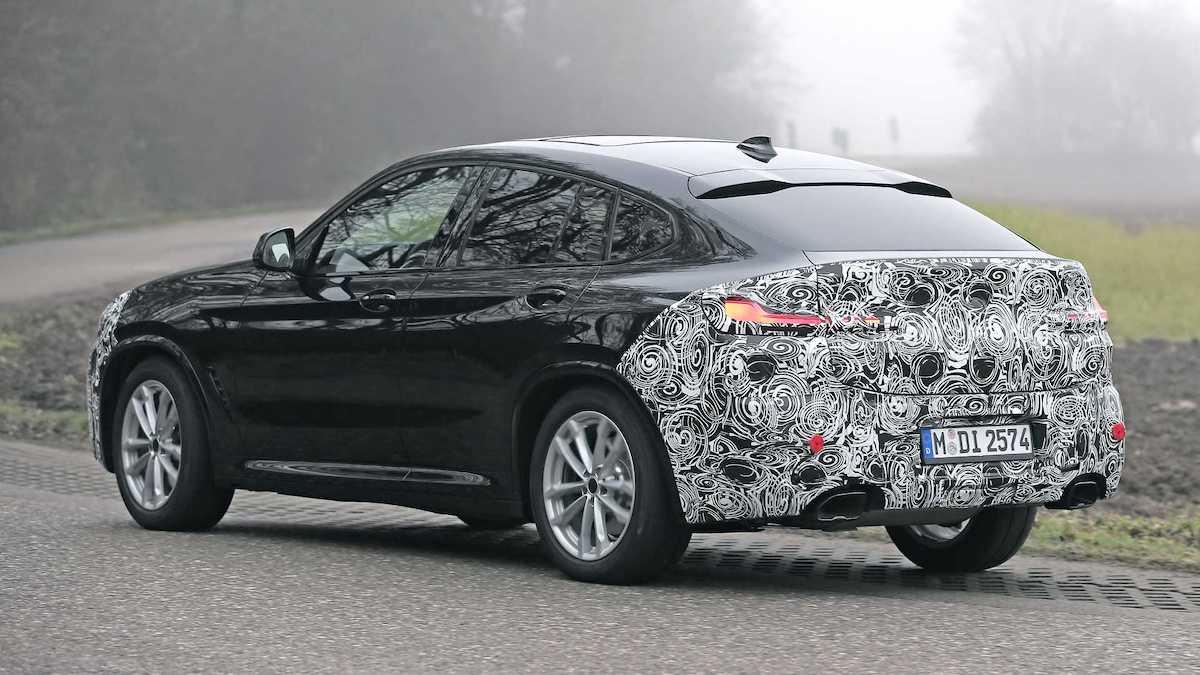 BMW X4 (2022): prototyp