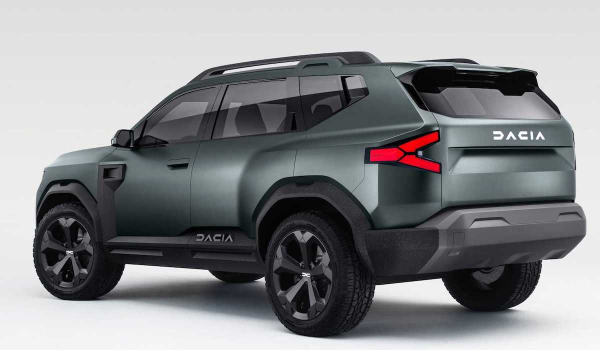 Dacia Bigster: koncept (tył)