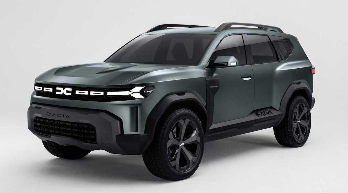 Dacia Bigster: koncept (przód)