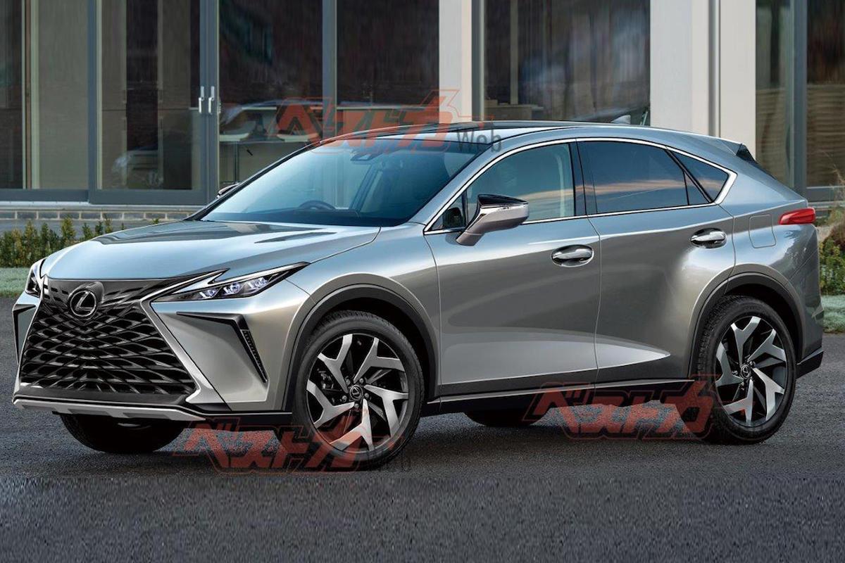 Lexus NX (2022): rendering