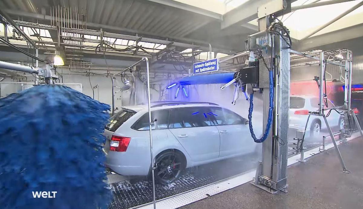Największa myjnia samochodowa na świecie: Mr. Wash Stuttgart