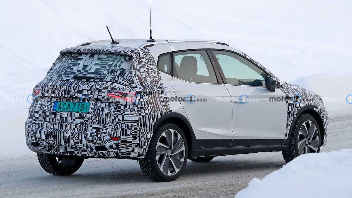 Seat Arona lifting (2021): prototyp