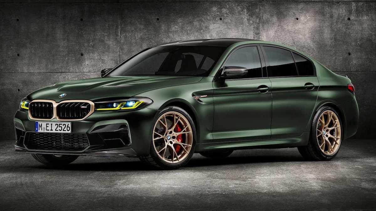 BMW M5 CS (2021): przód