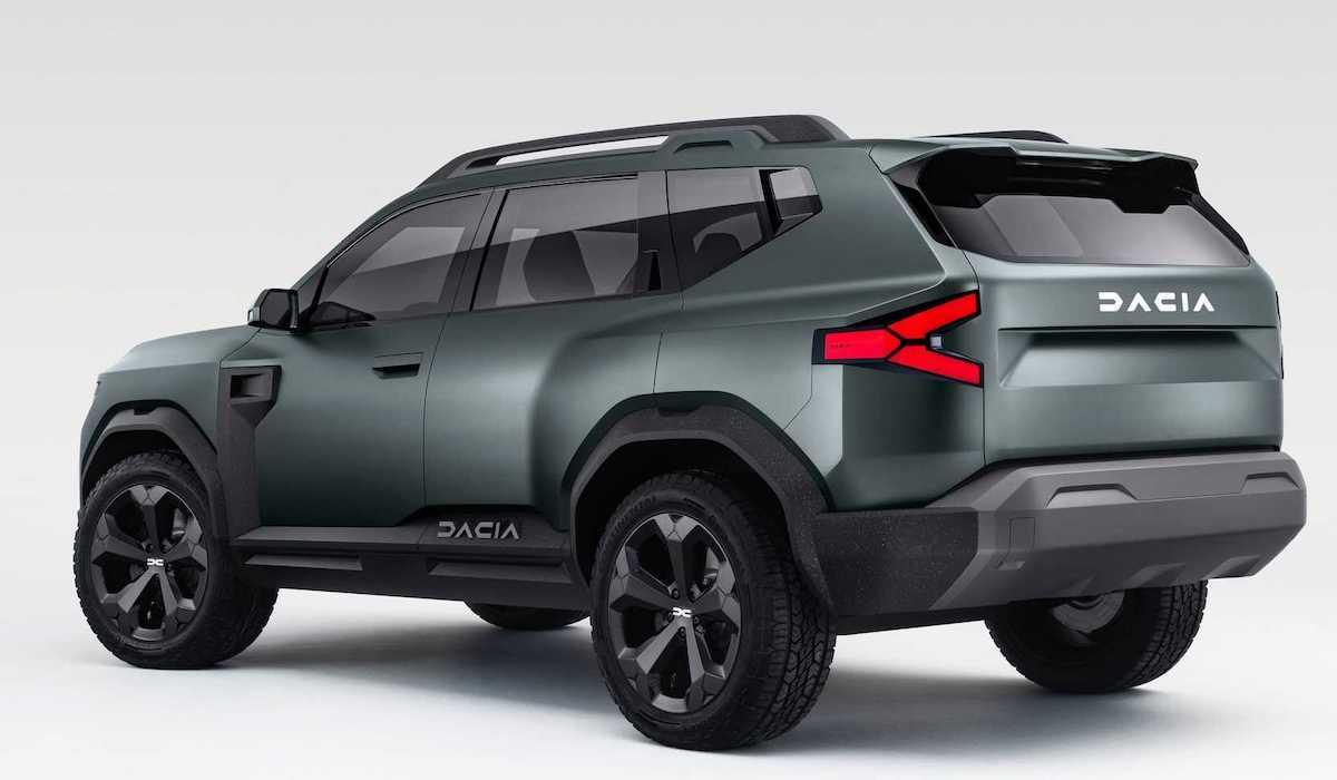 Dacia Bigster: Concept (spate)