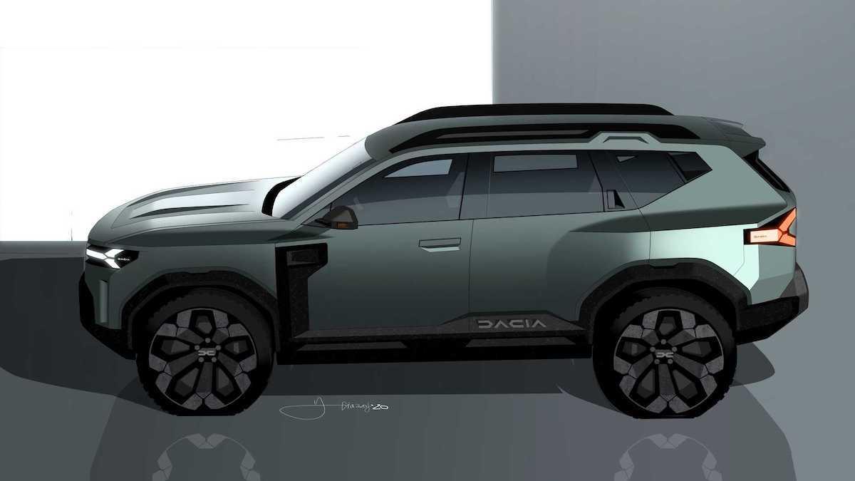 Dacia Bigster: koncept (bok)