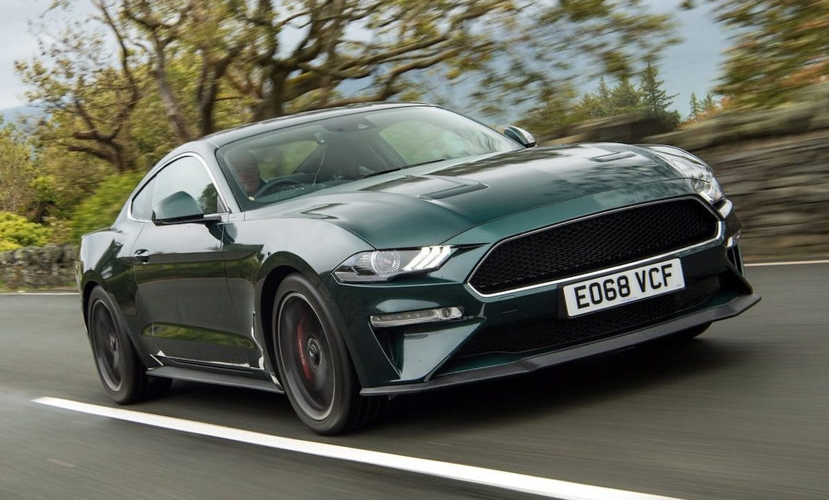 Ford Mustang Bullitt (2019): Dark Highland Green