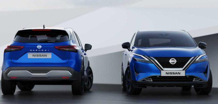 Nissan Qashqai (2021): niebieski