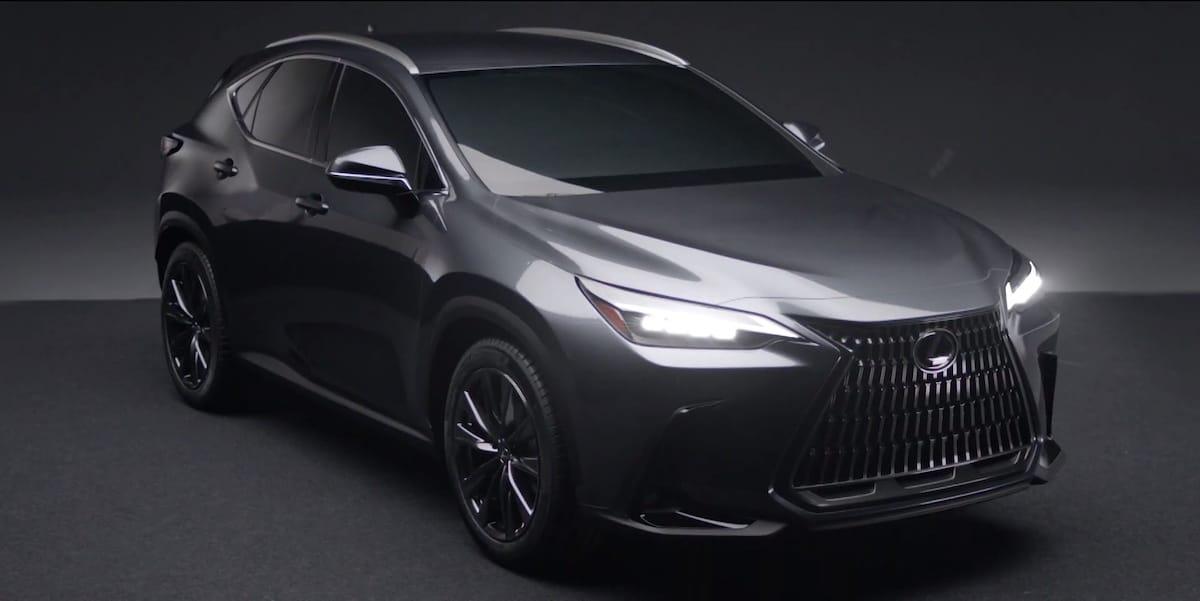 Lexus NX (2021): przód
