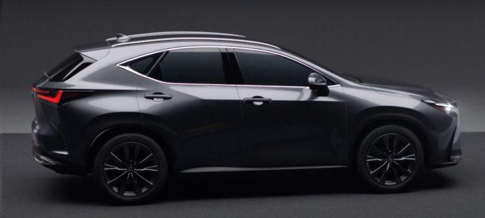 Nowy Lexus NX (2021): bok