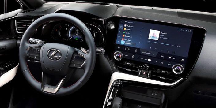 Nowy Lexus NX (2021): wnętrze